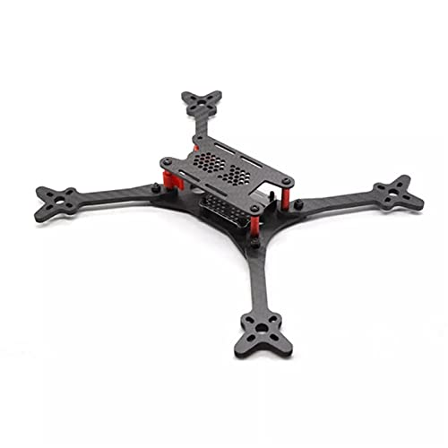 VIKEP Floss 2 215mm con Distancia De Ruedas 4 Mm Arm 3K Fibra DE Carbon A LA CAÍDA CAÍDA ADJORAL para RC Drone FPV Racing