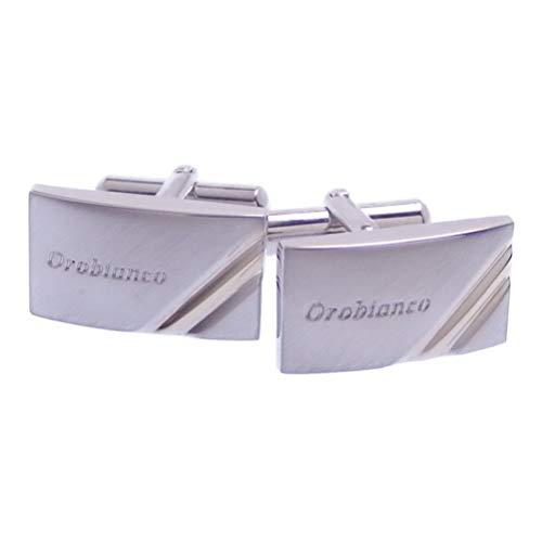 Orobianco オロビアンコ カフス カフスボタン ツートーン ORT162 ブランド