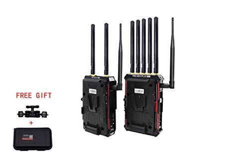 Crystal Video Technology Pro800 Plus Wireless HD Multifunctional Video Transmission System Movie/TV Program Making, Sports Broadcasting, Wedding & Conference, etc. 5GHz Wireless HD Video Transmission