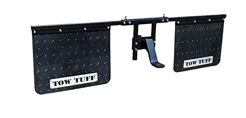 Tow Tuff TTF-2418AMF Universal Mounts Mud Flaps for Towing