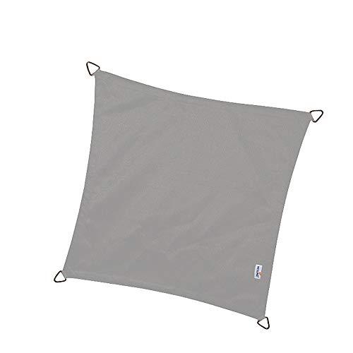 nesling Dreamsail Wasserabweisende sonnensegel (Quadrat 5,0m x 5,0m x 5,0m x 5,0m, Grau)