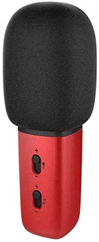 Externe microfoon, draadloze microfoon, bluetooth, mobiele telefoon, microfoon, party, geschenk, starthulp, KTV speler, met opnamefunctie, compatibel met Android en iOS Devic (upgrade