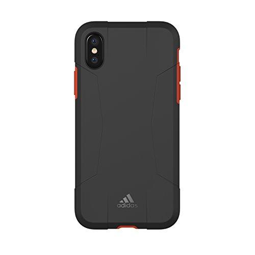 adidas Performance Solo Case Handyhülle für Apple iPhone X  - Schwarz/Rot Black/Red