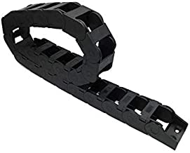 Farleshop 1 st 25x38 1 Meter 100 cm 40 inch Brug Open aan beide zijden Plastic Drag Chain Kabel Wire Carrier Met Gewrichte...