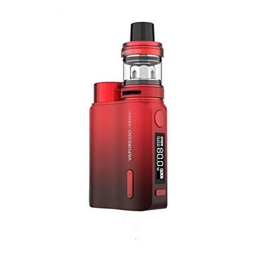 Original Vaporesso Swag II 2 Kit de cigarrillos electrónicos con TC Box Mod Vape 3.5ml NRG PE Tank GT CCELL Coil red