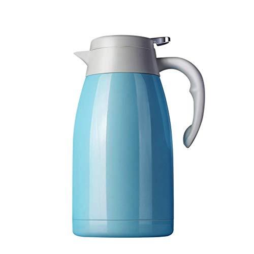 LYLSXY Tazas de Agua Tazas Aislamiento de Gran Capacidad Pote de Aislamiento para el Hogar Acero Inoxidable Botella de Agua Caliente Termos Termos Aislaciones de Aislamiento de Aislimiento 2L Termos