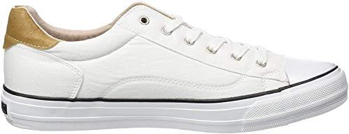 MUSTANG Damen Sneaker Weiß, Schuhgröße:EUR 44