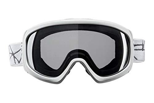 Crivit Ski- un Snowboardbrille mit 100% UV Schutz Weiß II