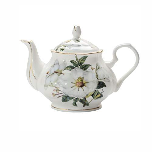 YWSZJ Kapok Fina Tetera de Phnom Penh Inglés té de la Tarde Juego de té Uso de la Familia de té de cerámica Sola Olla