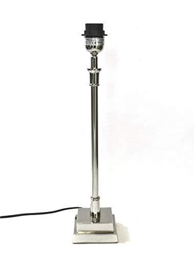 Lampe Lampenfuß Colmore Metall silber 38 cm E27 211-15-026M E27 40W