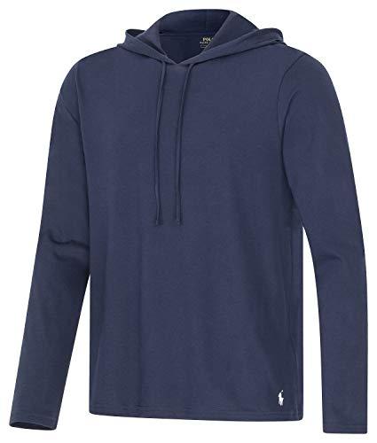 Polo Ralph Lauren Longsleeve Hoodie Shirt Langarm Sleep Top L Navy (002)