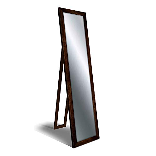 Specchio da terra FLOOR MIRROR 40X160 cm BOSTON SHABBY COFFEE