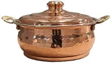 Handmade Cooking Pot Copper 11x6centimeter