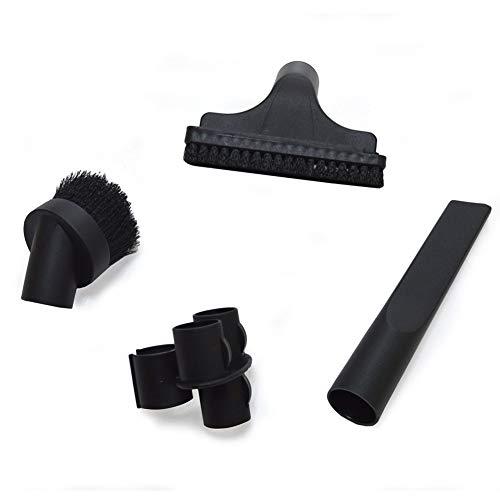 EZ SPARES 4PCS Universal Replacement 32mm 1 1/4 inch Vacuum Cleaner Accessories PP Hair Brush Kit For Hoover, Eureka, Royal, Dirt Devil,Rainbow,Kenmore, Shop Vac