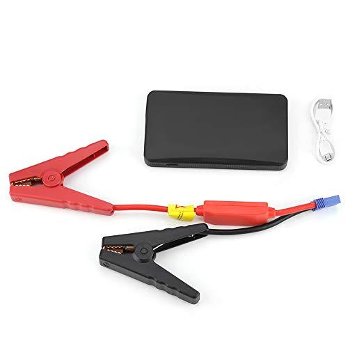 SANON Mini Tragbare 12V Autobatterie Starthilfe Auto Motor Batterieladegerät Power Bank Auto Booster Batterie für Benzinmotor 3. 0L Schwarz