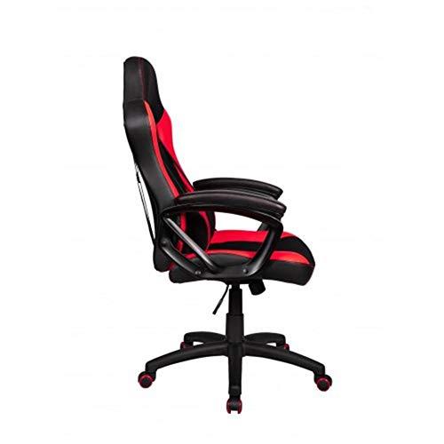 ZXJUAN rode bureaustoel draaibare verstelbare luifel enkel laptop bureaustoel stoel