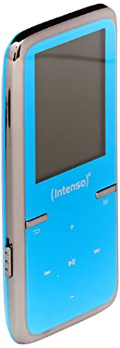 Intenso Video Scooter MP3-Videoplayer (4,5 cm (1,8 Zoll) Display inkl. 8GB micro SD-Karte) blau