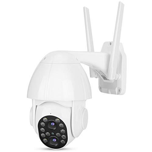 WiFi y Sistema de vigilancia de Doble Lente Cámara Impermeable IP66 Cámara WiFi a Todo Color Impermeable para(European regulations)