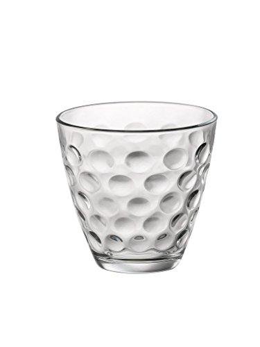 Bormioli Rocco 074208 - Juego de 6 vasos de agua, 26 cl, diseño de lu