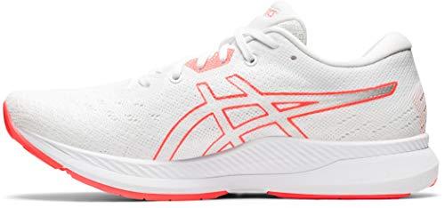 ASICS Damen Evoride Tokyo Road Running Shoe, White/Sunr...