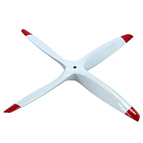 XIABAIGUO CCW 4. Lame Motore ad elica in Legno per Nitro Carburante Benzina RC. Aeroplano per Garbird Strirser 12x6 12x7 12x8 12x9 Accessori per eliche per droni (Color : 12x9)