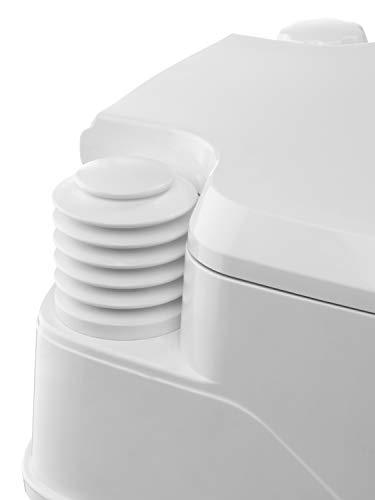 Thetford 92802 Porta Potti 145 Portable Toilet, White-Grey, 330 x 383 x 427 mm