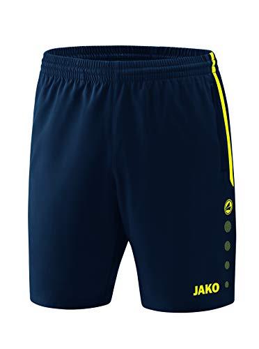 JAKO , Training & Fitness - Kinder , Shorts , Competition 2.0 , marine/neongelb , 164 , 6218