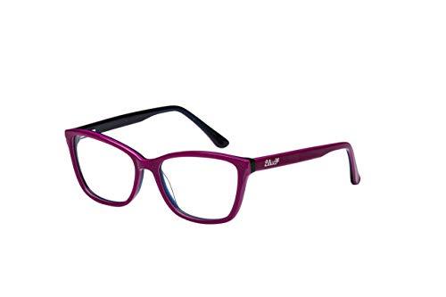 Armação Para Óculos Lilica Ripilica Em Plástico E Metal, Haste Em Metal