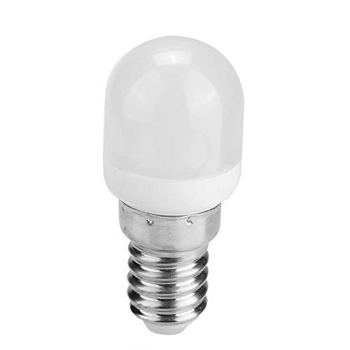 Gloeilamp, Mini LED-lamp Koelkast Magnetron Naaimachine Lamp Licht E14 T22 2W 220V(Warm)