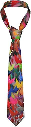 Corbata de papel de origami para hombre, corbata tejida con jacquard, ideal para bodas, fiestas, novios, bailes