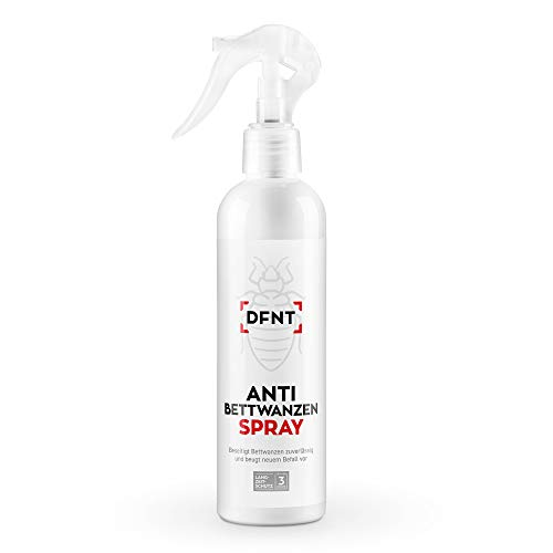 DFNT Bettwanzen Spray 250ml | Mittel gegen Bettwanzen | Ideale Bettwanzen Bekämpfung | Bettwanzen Falle Alternative | Biologisch abbaubar