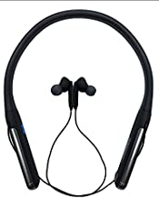 Fat Boy Bluetooth Neckband with Vibration Alert for Calls, in-Ear Wireless Earphones with 40 Hour Battery Life, Fast Charg...