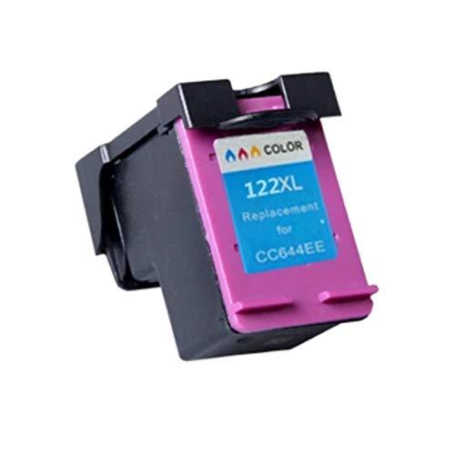 Reemplazo compatible con cartuchos de tinta 122XL, para HP 1000 2000 Envy 4500 5530 4630 4632 impresora 1*color