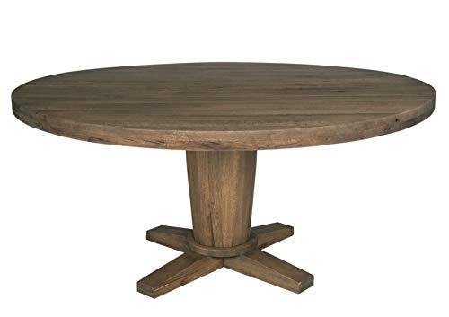Sit Möbel Esstisch rund 160 cm Balkeneiche massiv Räucheröl finish Woody 11-00341