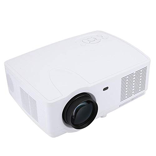 Mini led-beamer, Native 1280x800 Full HD-projector, thuisbioscoopprojector met 30000 uur led, max. 300