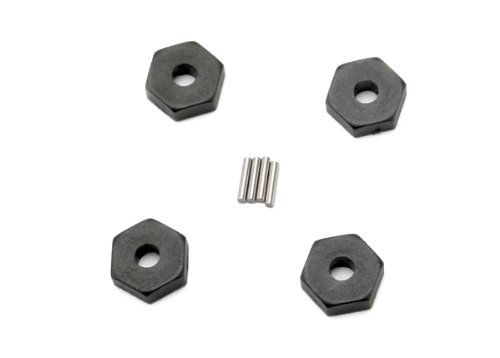 Traxxas 7154 Wheel Hubs with Axle Pins, 1/16 Vehicles (set of 4)