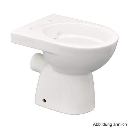 Geberit Stand-Tiefspül-WC Renova, Abgang waagerecht, weiß, 500480012