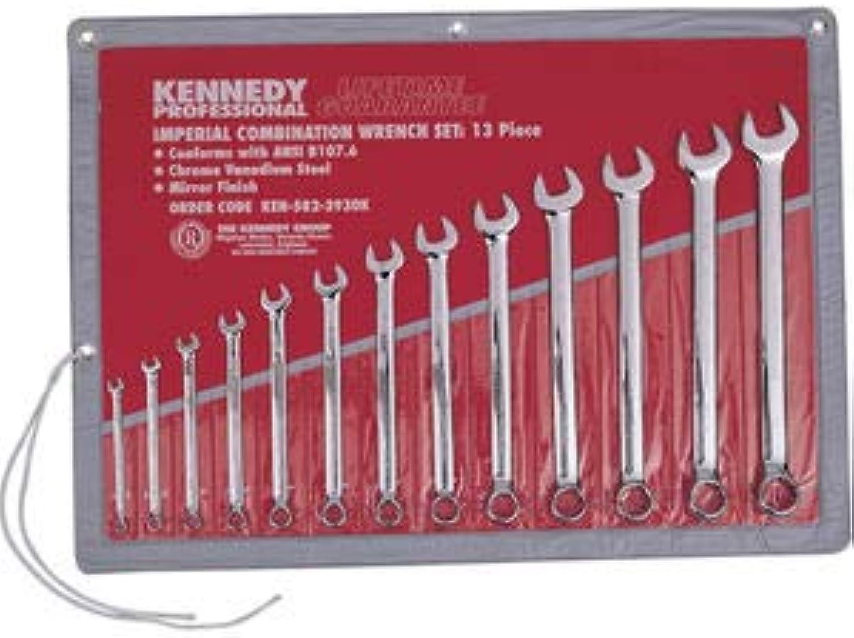 Kennedy-Pro Schraubenschlüsselsatz Ringmaulschlüssel 1 4  - 1  15° Kröpfung Chrome Vanadium Stahl 13-teilig B079KY1ZV9 | Viele Sorten