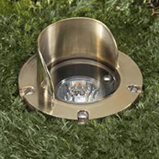 Vista Pro In Ground and Well Light Solid Brass GW 5275 CSN