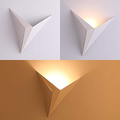 Moderne minimalistische led-wandlamp in driehoekige vorm wandlamp binnenverlichting Scandinavische stijl woonkamer eenvoudige verlichting 4 X 100 M