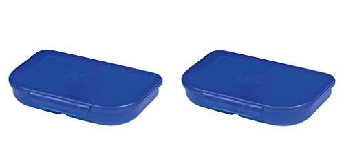 Herlitz 11415304 Brotdose (2X Blau)