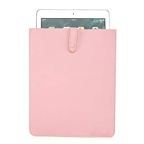 Montana West Laptop Sleeve Cover Genuine Leather Protective Tablet Sleeve Compatible with 9' 7' MacBook Air/Pro, Retro Vintage Slim iPad Bag IP-7001PK-CW
