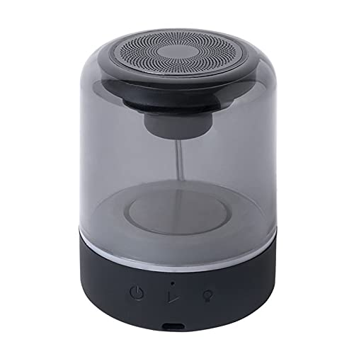 ZEIYUQI Luz de Respiración de Color Altavoz Inalámbrico Bluetooth Recargable Luz Nocturna Altavoz LED Luz de Cuatro Colores Fiesta de Cumpleaños Altavoz Bluetooth,Bluetooth con Llamada Soporte TWS