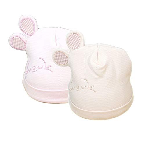 DoMyfit - Gorro unisex para bebé recién nacido, diseño de orejas de bebé