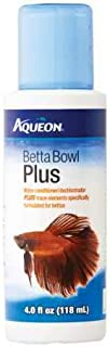 Aqueon Betta Bowl Plus Water Conditioner & Dechlorinator