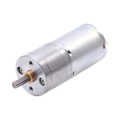 Wusfeng LHongBin-Motor DC Motor de Engranaje eléctrico DC Motor 6V 12V, Torque...