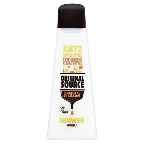 Original Source Tropical Coconut & Shea Butter, Tropische Kokosnuss & Sheabutter Duschgel 500 ml
