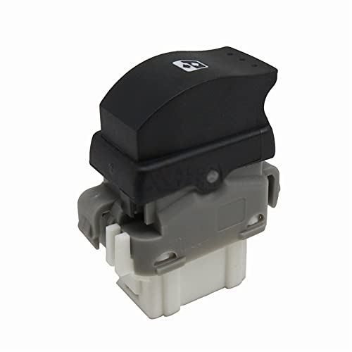 para Renault Megane 2 Scenic 2 Laguna 2 1998-2014, 8200315024 Unidad de Interruptor de regulador de Ventana Botón de Control de Interruptor de Ventana eléctrica Trasera