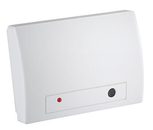 LUPUSEC Glasbruchsensor für die XT Smarthome Alarmanlagen, kompatibel mit allen XT Funk Alarmanlagen, meldet brechende Fenster im Umkreis von 6 Metern, batteriebetrieben, 12011