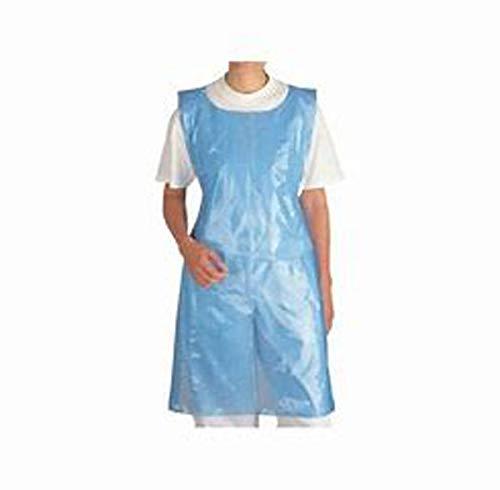 Wegwerp Waterdicht Polytheen Plastic schorten Blauw*****ROLL van 200***